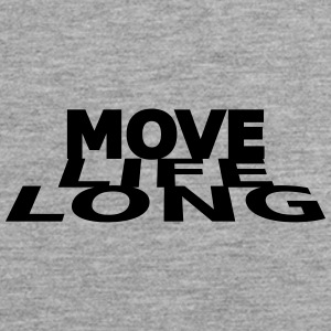 move life long - Männer Premium Tank Top