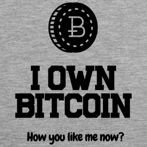 I own Bitcoin! - Men's Premium Tank Top