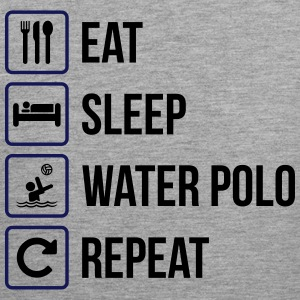 Eat Sleep Water Polo Repeat - Men's Premium Tank Top