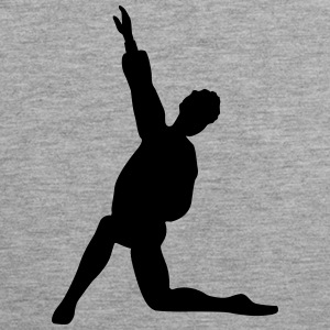 Vector Ballet dancer Silhouette - Men's Premium Tank Top