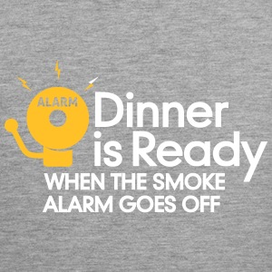 Dinner Is Ready When The Smoke Alarm Is Ringing - Men's Premium Tank Top