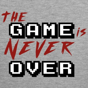 The game is never over_v2 - Men's Premium Tank Top