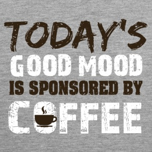 Todays goodmood is sponsorend by coffee - Men's Premium Tank Top