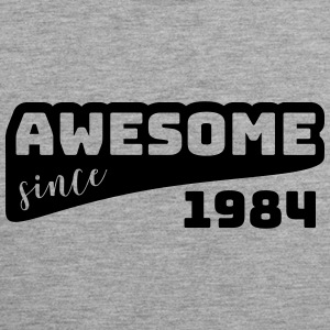 Awesome since 1984 / Birthday-Shirt - Men's Premium Tank Top