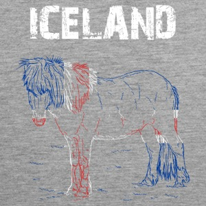 Nation-Design Iceland Horse - Men's Premium Tank Top