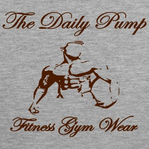 The Daily Pump male model - Men's Premium Tank Top