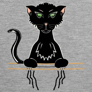 black cat - Men's Premium Tank Top