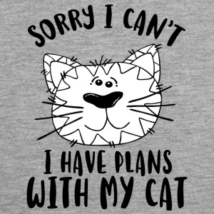 SORRY I CAN'TI HAVEPLANS WITH MY CAT - Men's Premium Tank Top