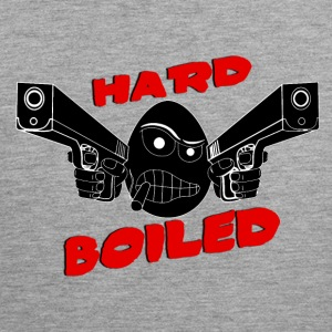 Hard Boiled (Noir) - Men's Premium Tank Top