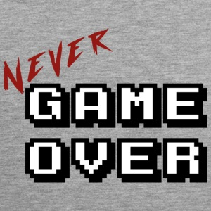 Never game over white - Men's Premium Tank Top