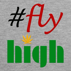 #flyhigh - Premium singlet for menn