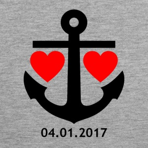 04/01/2017 Relationship Shirt - Men's Premium Tank Top