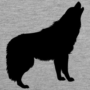 Howling Wolf - Men's Premium Tank Top