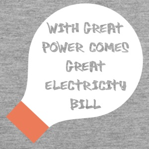 Electricians: With great power comes great - Men's Premium Tank Top