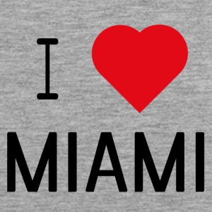 I Love Miami - Men's Premium Tank Top