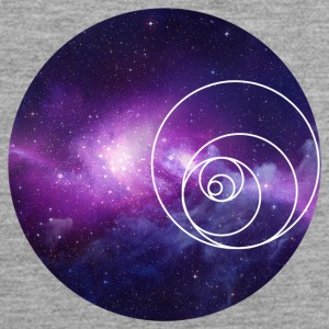 Galaxy Circle - Mannen Premium tank top