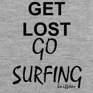Get lost go surfing - Men's Premium Tank Top