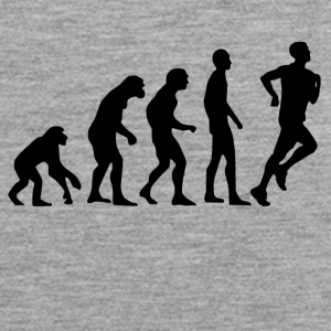 Human Evolution Jogging - Männer Premium Tank Top