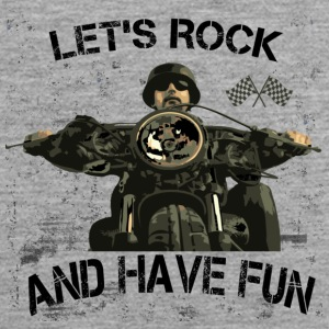 Lets rock and have fun! - Männer Premium Tank Top