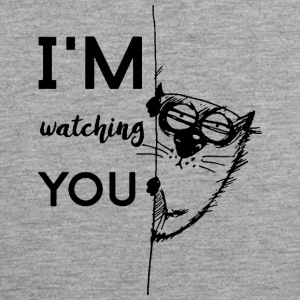 watching you - Männer Premium Tank Top
