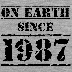 on earth since 1987 30th birthday 30th birthday - Men's Premium Tank Top