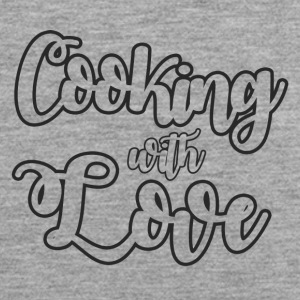 Koch / Chefkoch: Cooking With Love - Männer Premium Tank Top