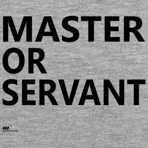 Master of Servant - Mannen Premium tank top