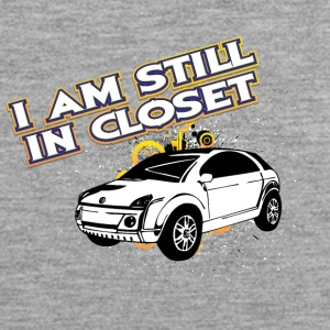 I am still in closed - Men's Premium Tank Top