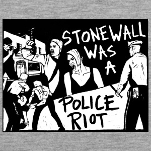 Stonewall was a police riot - Men's Premium Tank Top