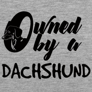 Dachshund: Owned By A Dachshund - Men's Premium Tank Top