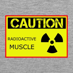 Caution Radioactive Muscle - Canotta premium da uomo