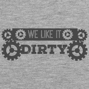 Mechanic: We like it dirty - Men's Premium Tank Top