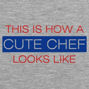 Koch / Chefkoch: This is how a cute chef looks - Männer Premium Tank Top