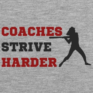 Coach / Trainer: Coaches Strive Harder - Männer Premium Tank Top