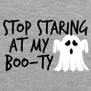 Halloween: Stop Staring At My Boo-Ty - Mannen Premium tank top