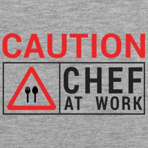 Koch / Chefkoch: Caution - Chef at work. - Männer Premium Tank Top