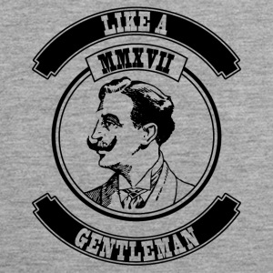 Like a Gentleman - Männer Premium Tank Top