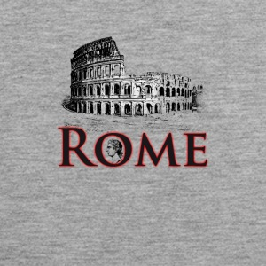 Rome italy holiday Colosseum caesar antique travel gif - Men's Premium Tank Top