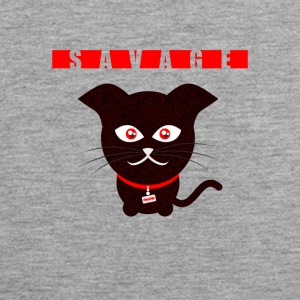Savage Cat - Mannen Premium tank top