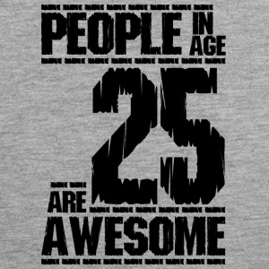 PERSONER I AGE 25 ER AWESOME - Herre Premium tanktop