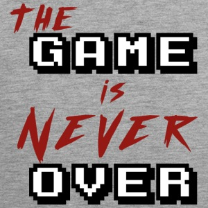 The game is never over - Men's Premium Tank Top