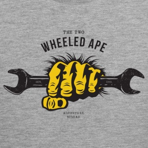 The Two Wheeled Ape APE HANDED - Men's Premium Tank Top