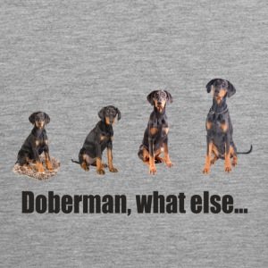 Doberman, what else... - Männer Premium Tank Top