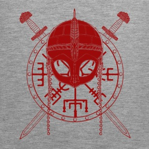 Viking Design (Red) - Men's Premium Tank Top