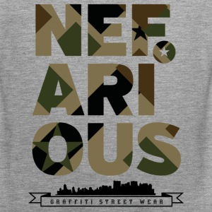 Nefarious Military Street Wear - Männer Premium Tank Top