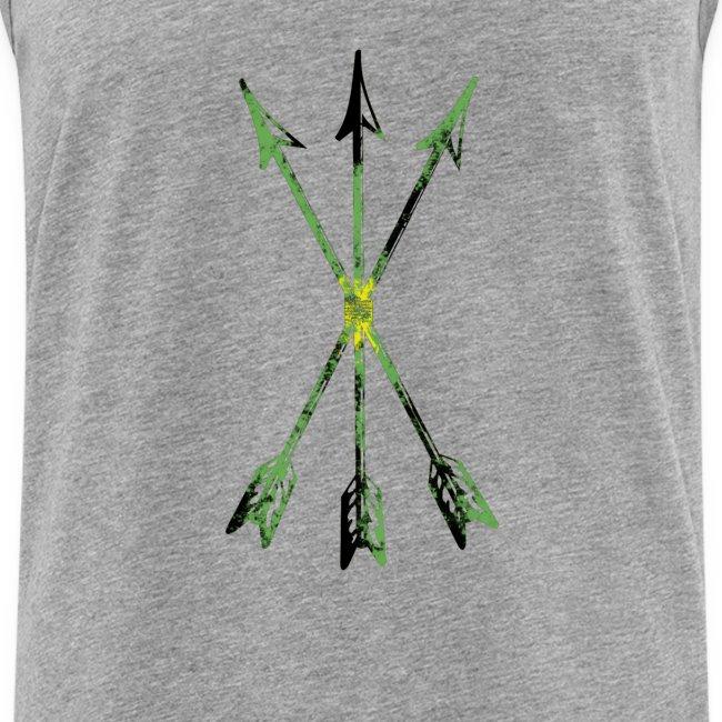 Scoia tael emblem green yellow black