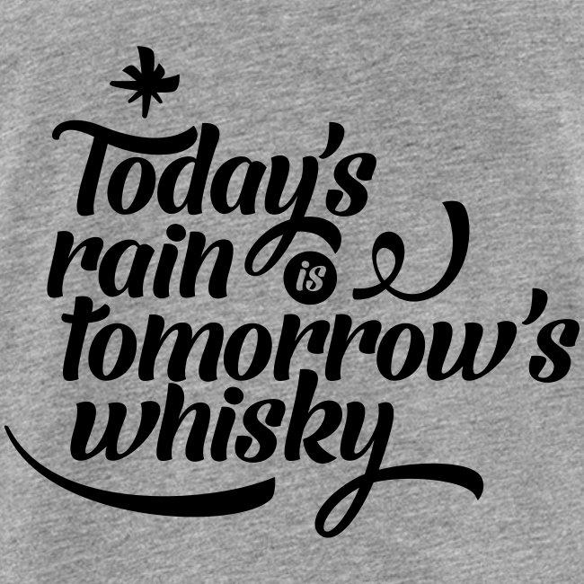Todays's Rain Women's Tee - Quote to Front