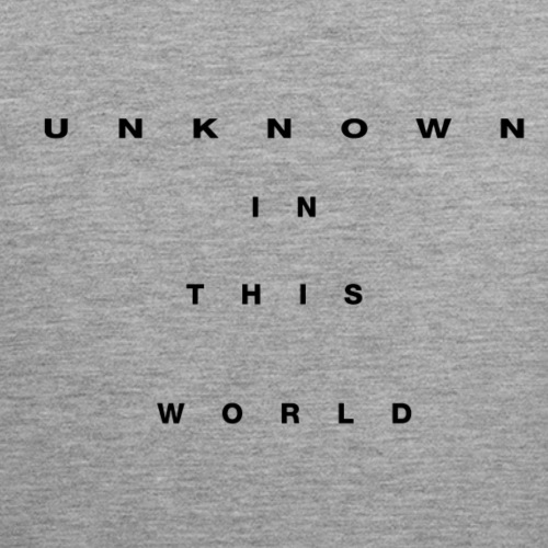 Unknown In This World Tank top - Men's Premium Tank Top