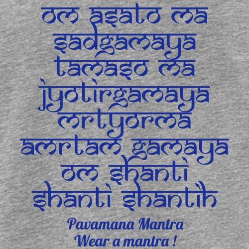 Om Asatoma Sadgamaya - Canotta premium da uomo