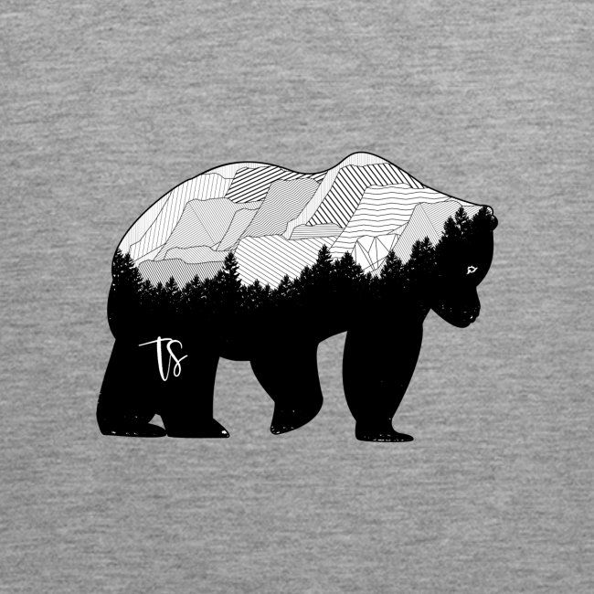 Geometric Mountain Bear